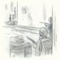 Akim corre- ilustración